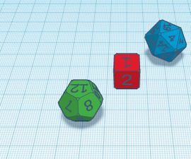 DIce for D@D ( Dungeons and Dragons)