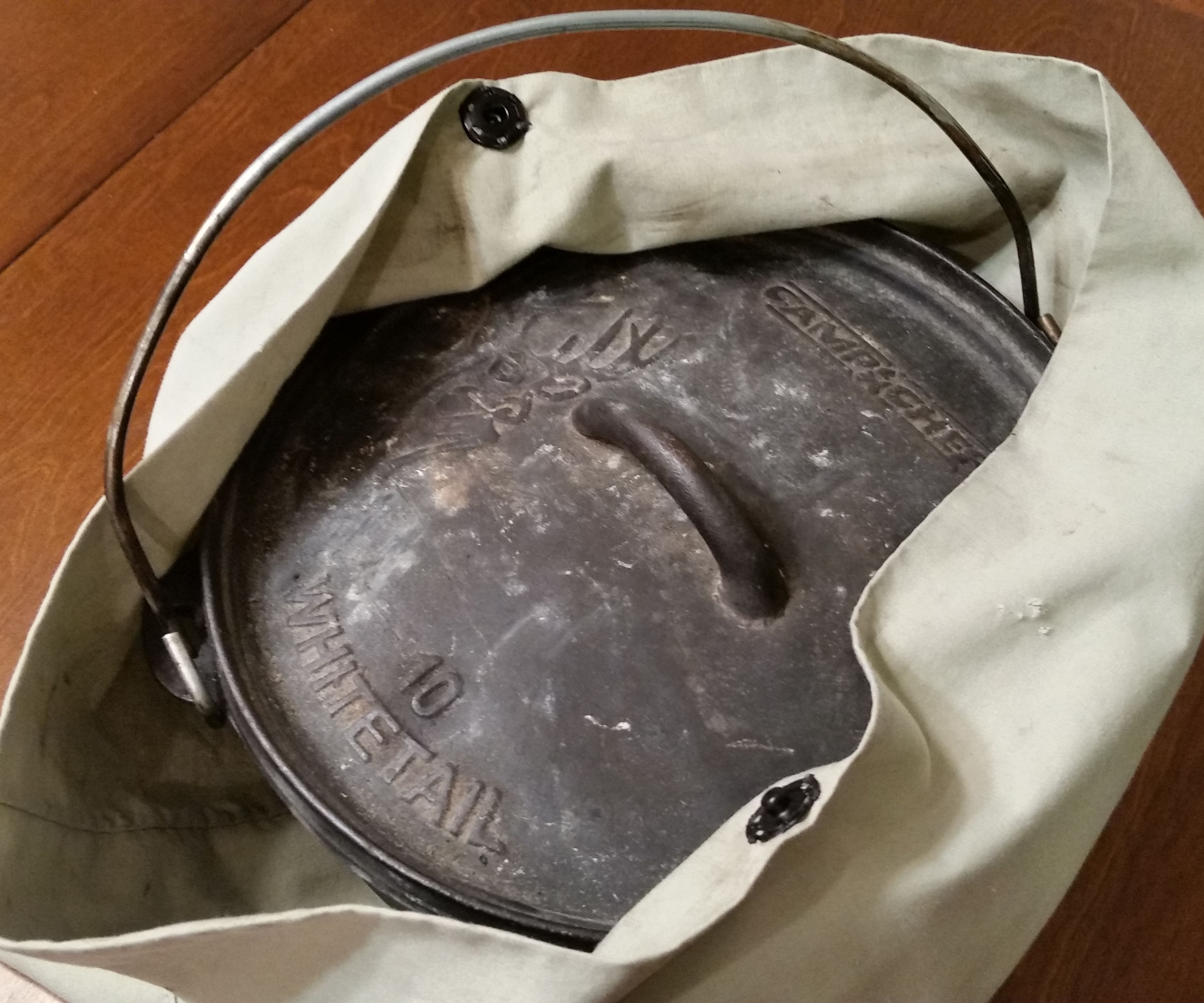 DIY Dutch Oven Bag
