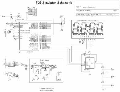 ECG Simulator Schematic