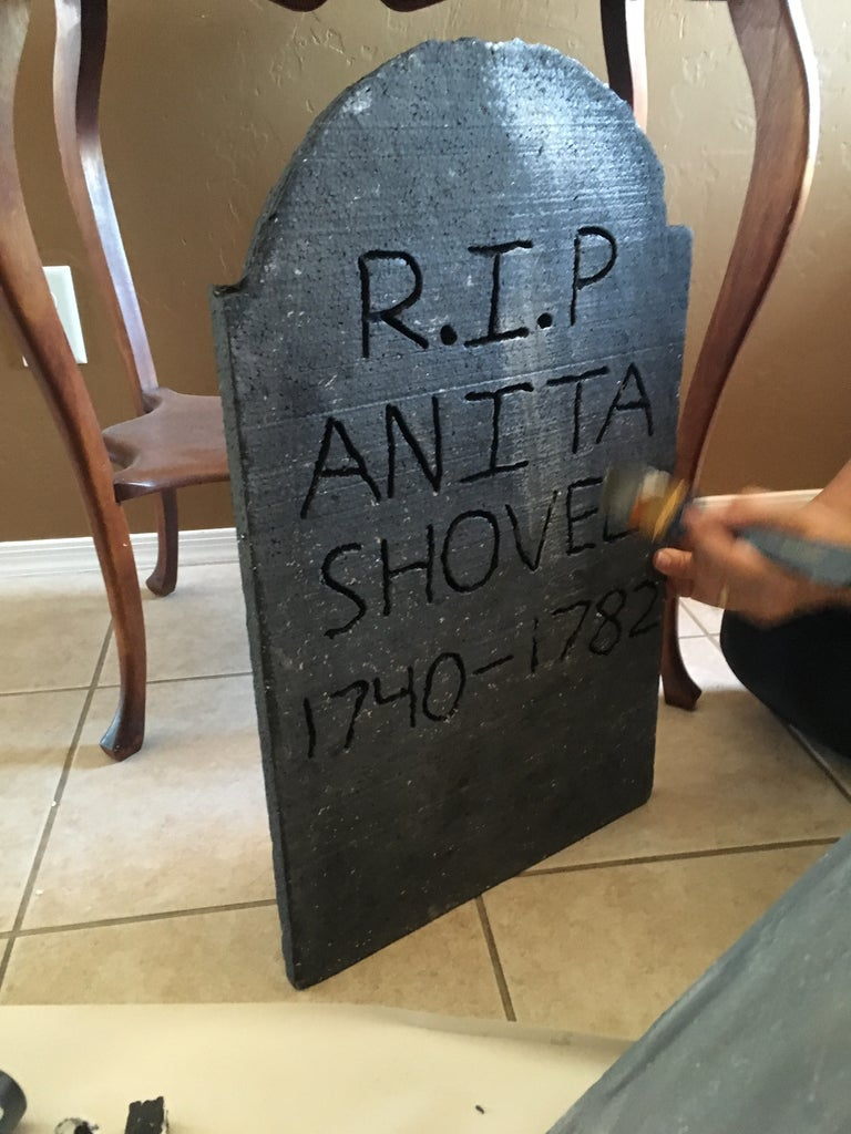 Paint the Gravestone