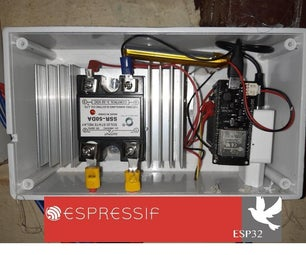 ESP32 IoT Water Heater