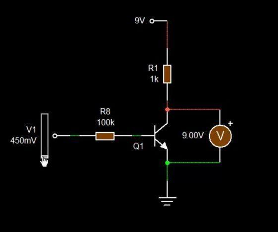كيف يعمل الترانزستور