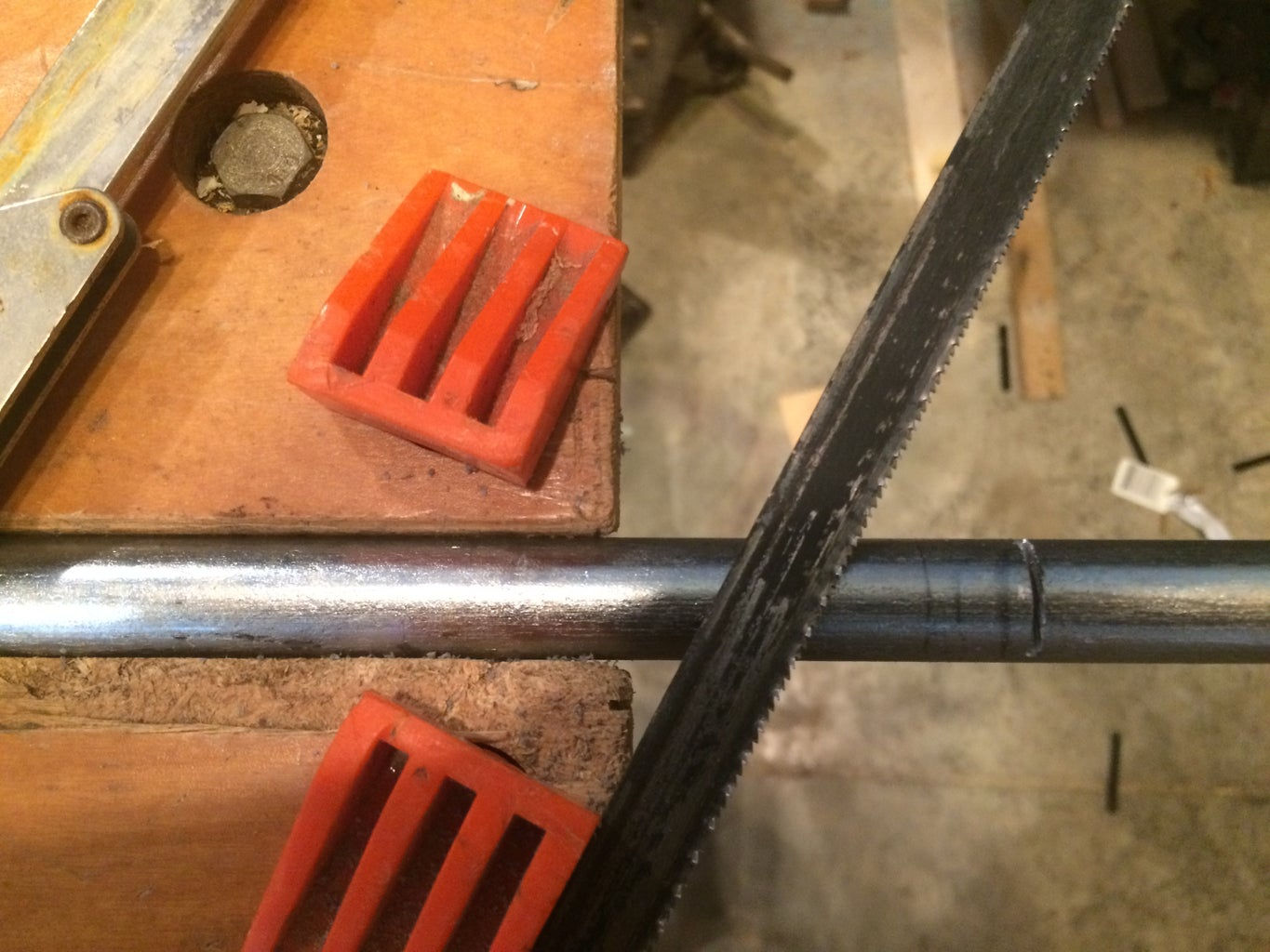 Step 2: Cut and Drill Axel