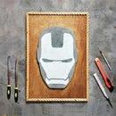 Iron Man - Helmet | Cement Wall Art