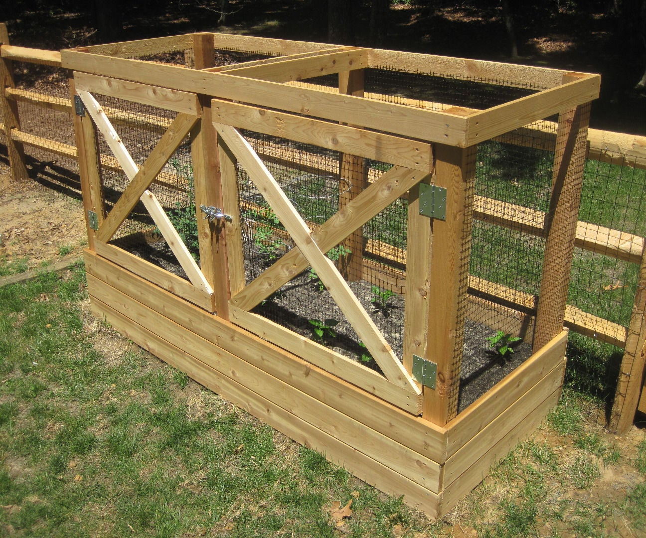 Deer Proof Raised Garden Beds 21 Steps With Pictures Instructables