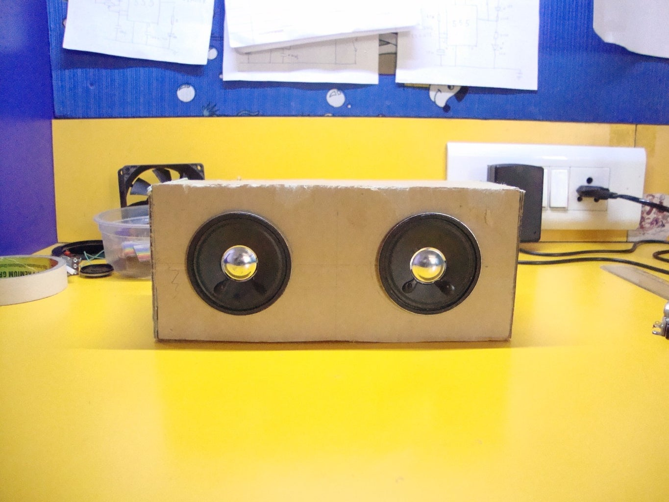 Install the Speakers