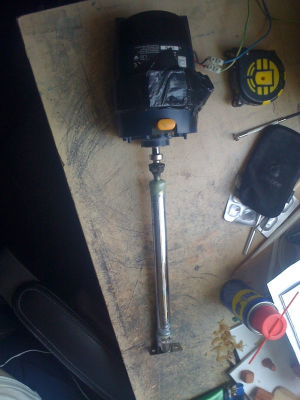 Making a Powerful Linear Actuator