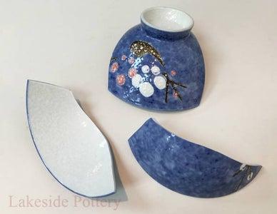 Before Start of Ceramic Mending