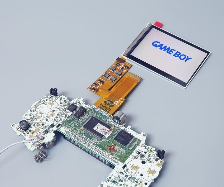 Game Boy Advance IPS LCD Installation