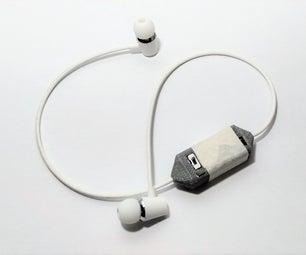DIY Bluetooth Headset (BK8000L Chip) 3D Printed