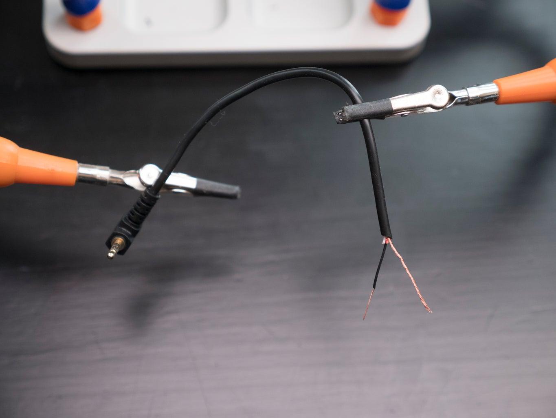 Prepare 2.5mm Connector