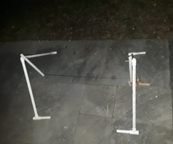 Portable PVC Backyard Rotisserie