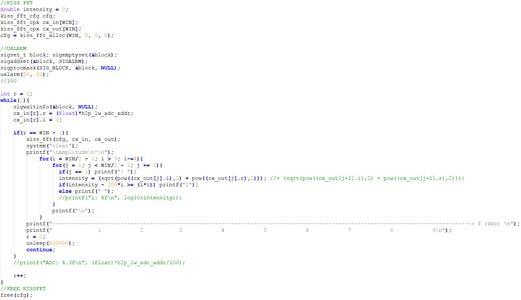 FFT Calculation