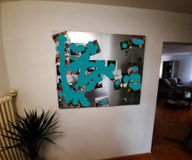 Magnetic Picture Wall