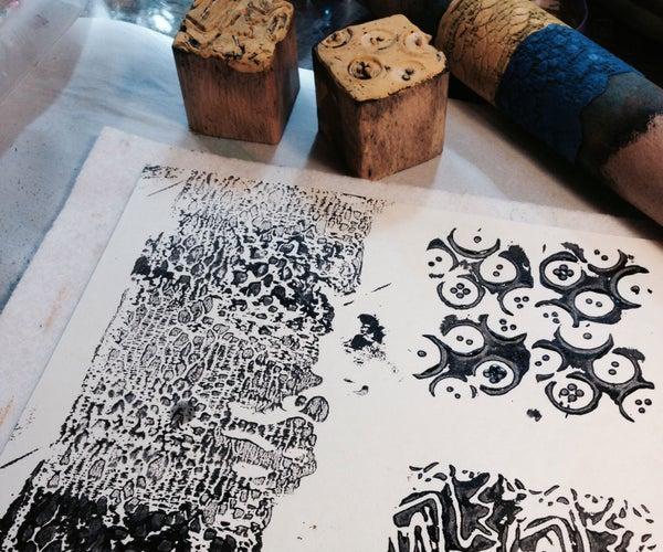 Impressed Sugru Stamps