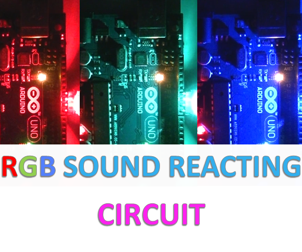 Sound Reacting Circuit in 2 Minutes