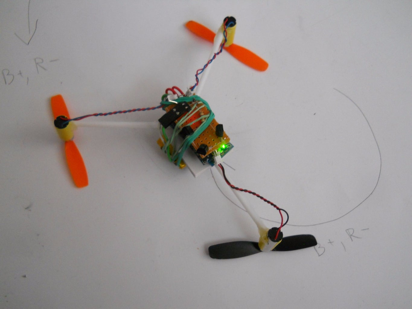 Voice Controlled Arduino Drone