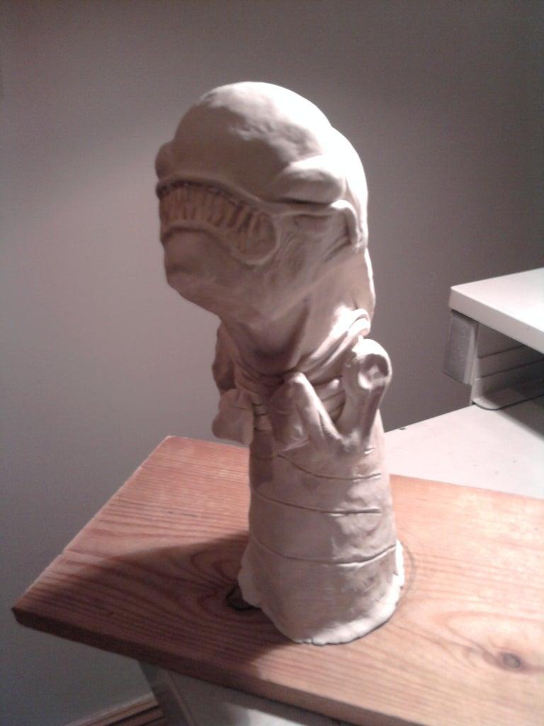 Latex Alien Chestburster