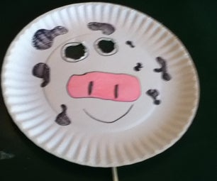 Cow Mask for Cow Appreciation Day