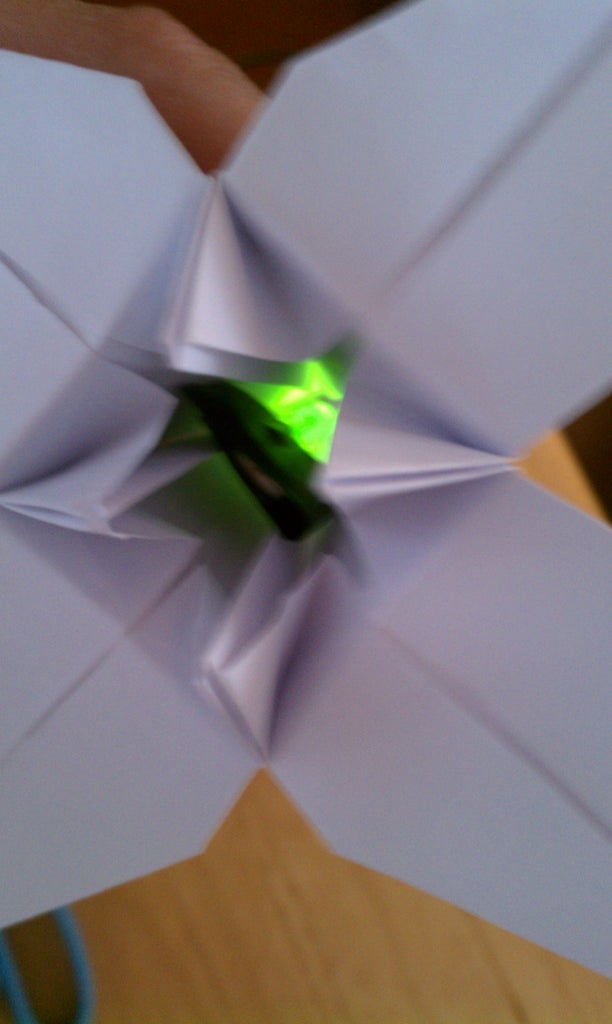 Lighting Up the Origami