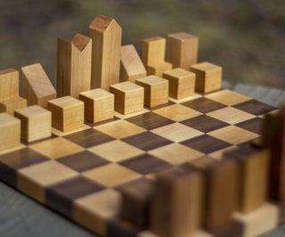 Mid Century Modern Chess Pieces