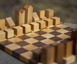 中世纪现代棋子