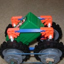 K'nex Simple 4 Wheel Drive Car