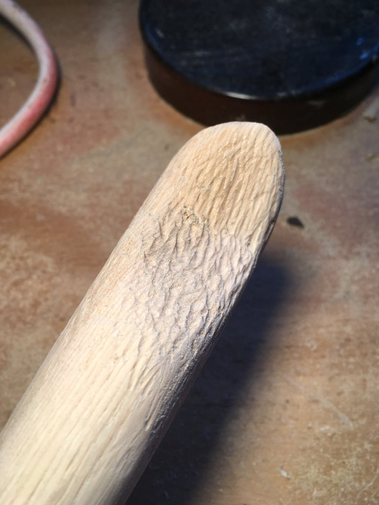 Carving the Handle