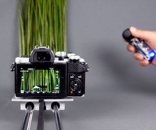 操纵杆手控制器和DIY相机滑块