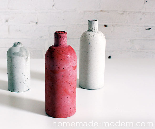 HomeMade Modern DIY Concrete: Coloring & Casting