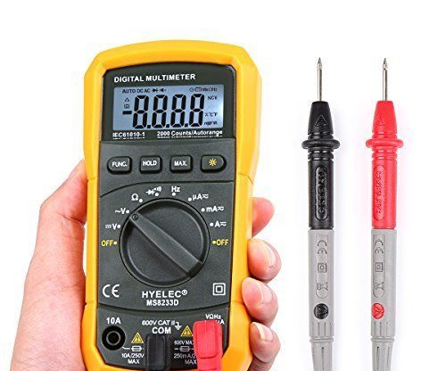 How to Use a Multimeter Basics