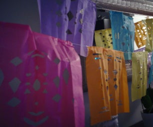 Mexican Paper Picado Flags