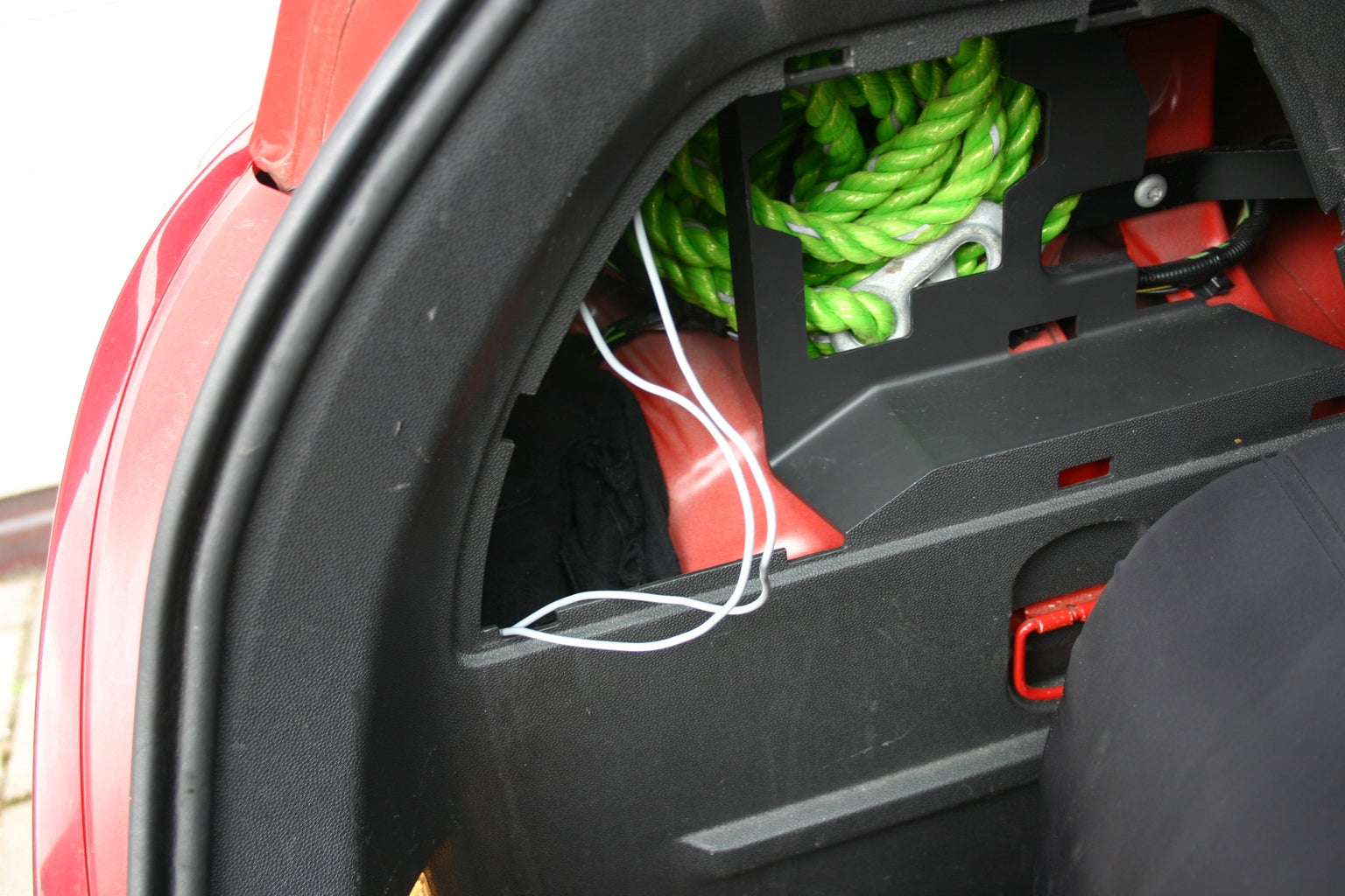 Pull a Cable Through Your Car