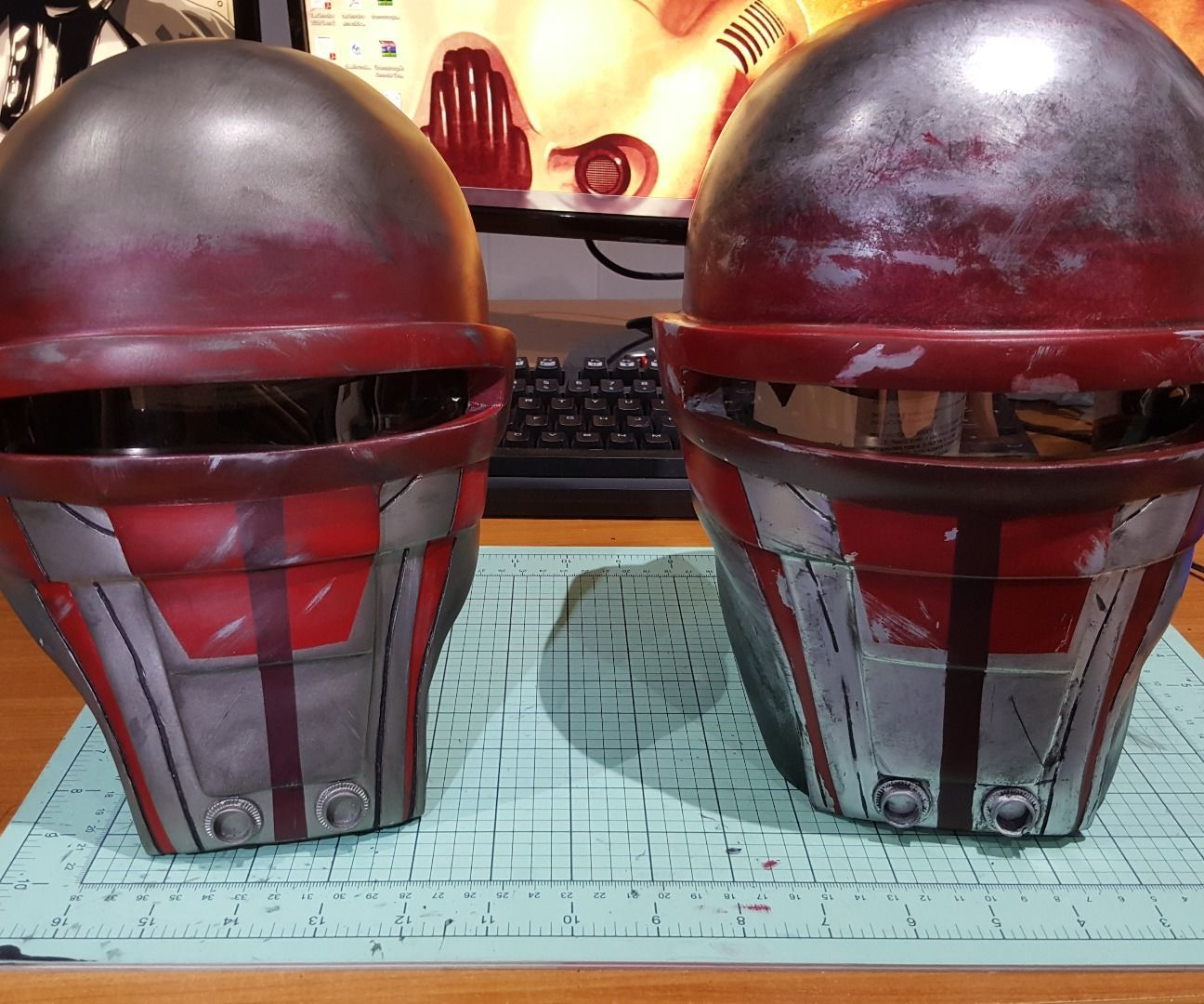Darth Revan's Mask -  Star Wars KOTOR