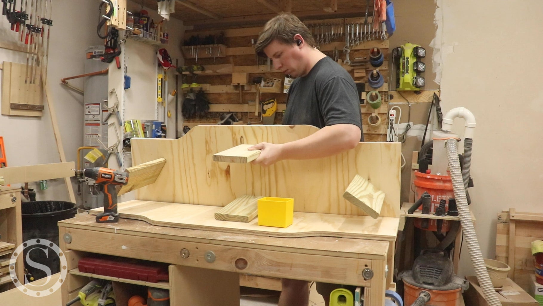Mark & Cut Form for Top Glue Up