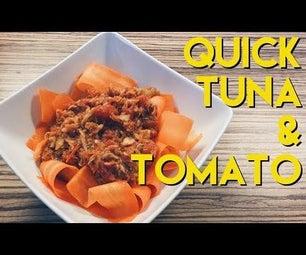 Cheap & Quick Canned Tuna Recipe