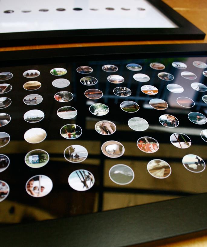 Travel Photo Confetti DIY