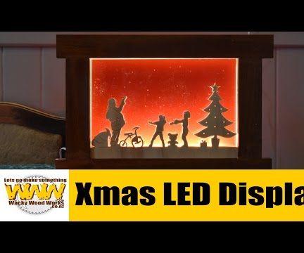 Xmas LED Display Box