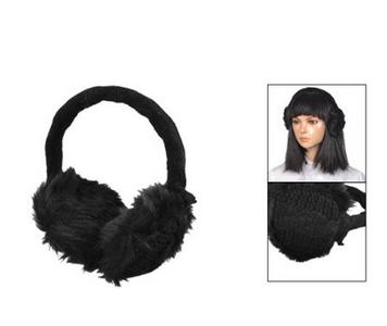 Wearing Ear Bags in Winter