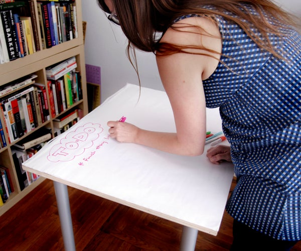 Giant Sticky Note Table