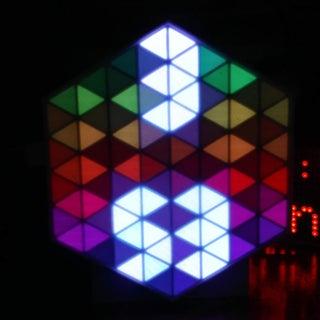 RGB HexMatrix   IOT Clock