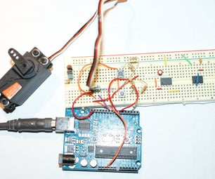 Controlling an RC Servo Motor With an Arduino and Two Momentary Switches