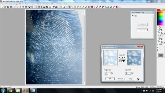 Retrieving and Recording the Prints