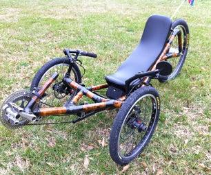 Building a Recumbent Bamboo Trike Frame