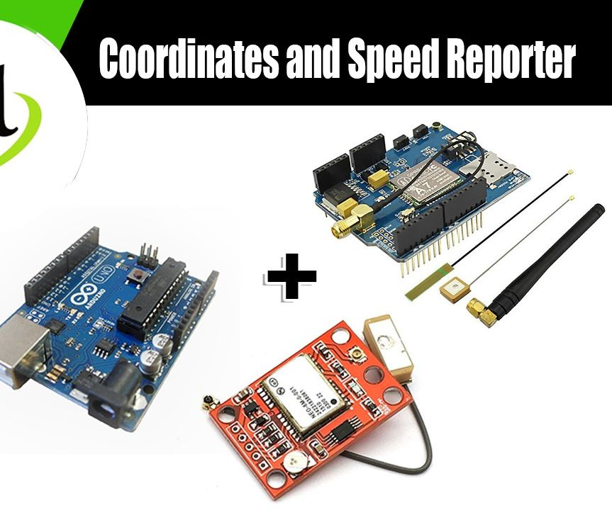 SMS Coordinates and Speed Reporter