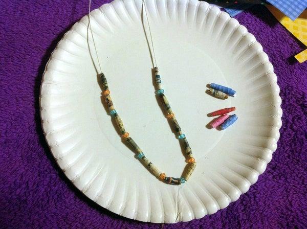 Making Paper Beads