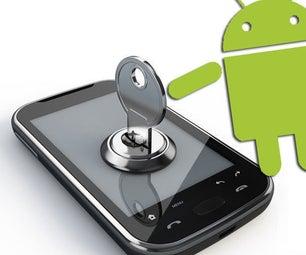 如何解锁Android密码或模式