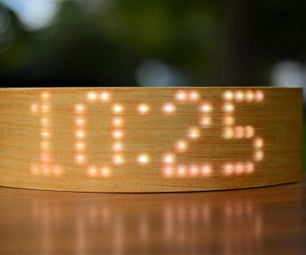 ArClock - a Smart Display Wrapped in Real Wood