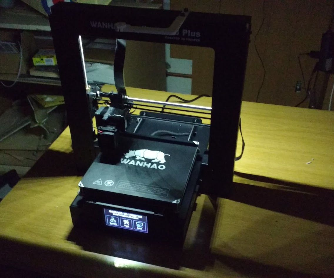 Wanhao Duplicator i3 Plus LED Light Upgrade