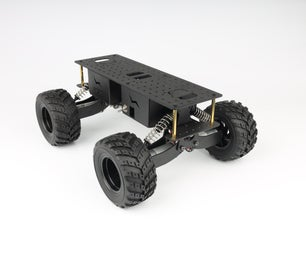 4WD Shock-absorbing Off-road Vehicle